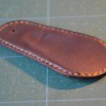 栃木レザーと100均グッズで作る!革製靴べらの作り方 その1 型紙編